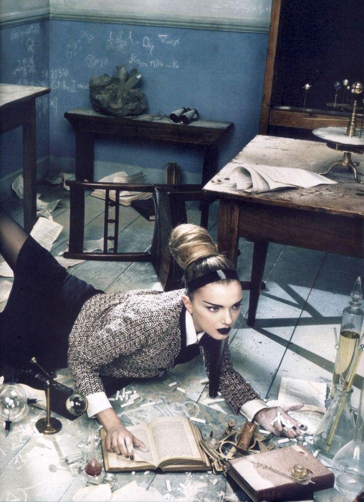 "Emma Summerton ""Everyday Perfection"" Vogue Italia March 2007"
