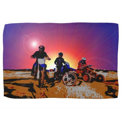 http://www.zazzle.com/gone_riding_quad_dirt_bikes_motocross_tea_towel-197511303644332077?rf=238523064604734277 Gone Riding Quad Dirt Bikes Motocross Tea Towel - This tea towel features three friends which have gone riding on their dirt bikes and quad bikes.