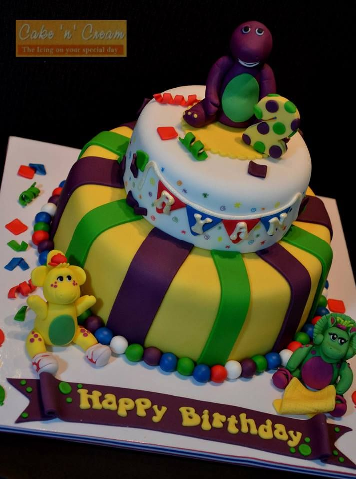20+ best ideas about Barney Birthday Cake on Pinterest ...