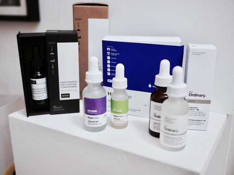 How to choose between Deciem's The Ordinary, Hylamide and NIOD. Deciem can be bewildering, here's my guide to their skincare lines