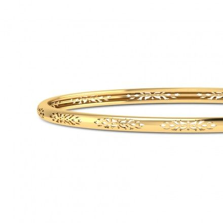 Aroha Gold Bangle
