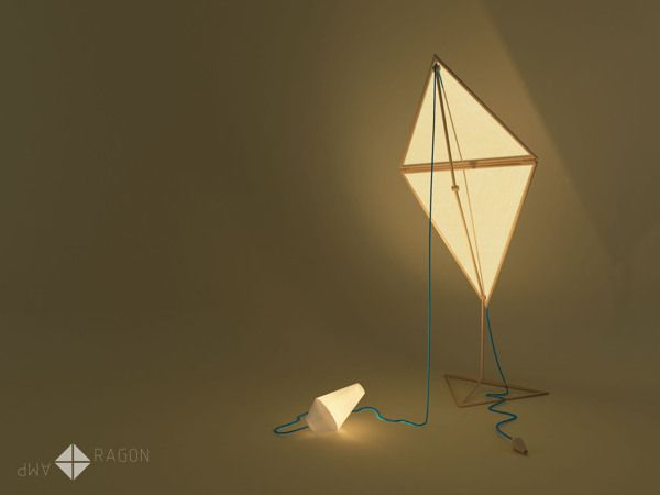 Dragon Lamp by Jelena Vucicevic