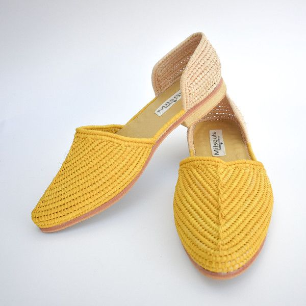 summer raffia shoes - must have