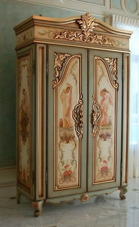 dyingofcute:    beautiful painted furniture