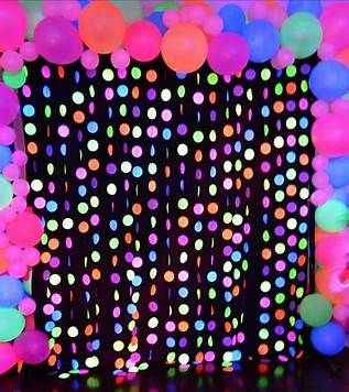 Image result for Glow in the Dark Party Ideas for Teenagers