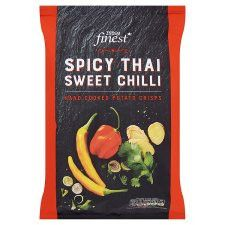 Tesco Finest Sweet Chilli Crisps 150G