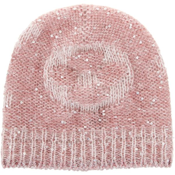Pre-owned Louis Vuitton Monogram Glitter Sunset Beanie ($230) ❤ liked on Polyvore featuring accessories, hats, pink, louis vuitton beanie, beanie hat, glitter hats, louis vuitton and louis vuitton hat