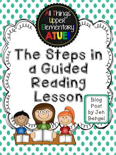 Check out this blog post for a step-by-step breakdown to teaching guided reading!