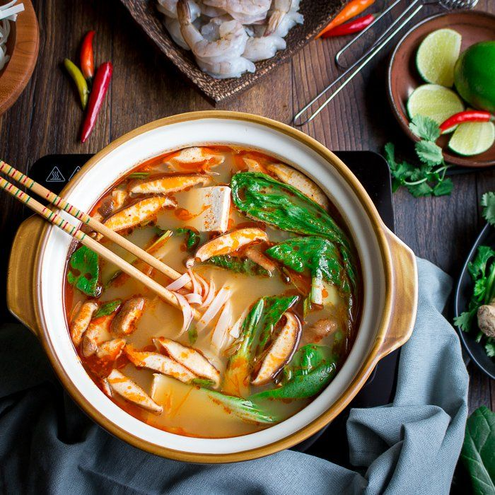 Simple Spicy Thai Hot Pot