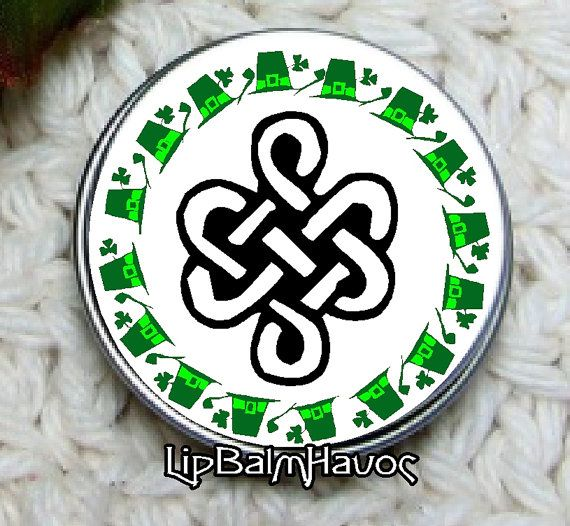 Spring Fling Collectible Tins  Celtic Love Knot by LipBalmHavoc