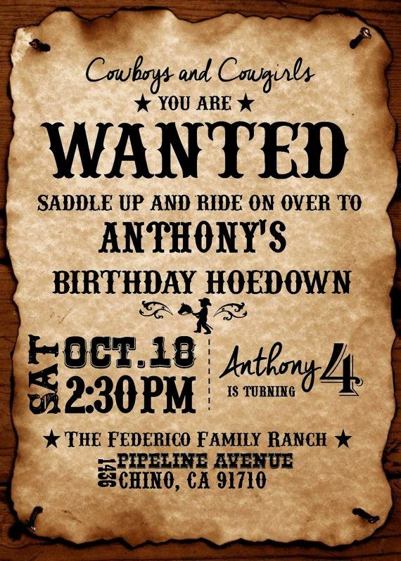 Western Party Invitations Template New Best 25 Western Theme Ideas On Pinterest Western Parties Party Invite Template Western Theme Party
