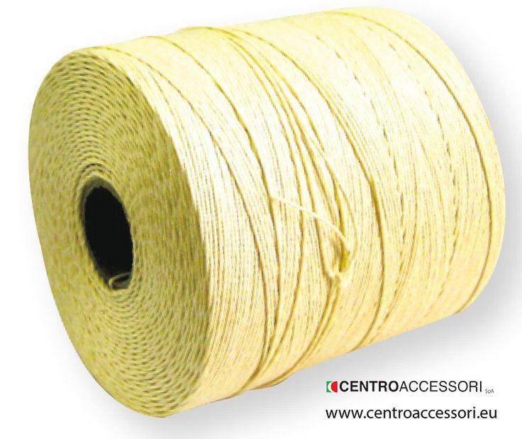 Spago lino etichetta gialla. Linen lockstitch thread for blake. #CentroAccessori