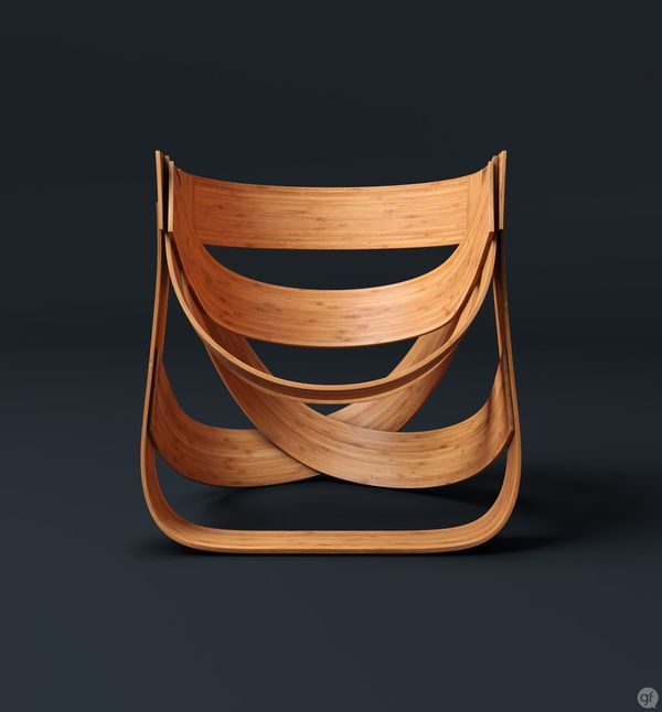 Bamboestoel Chair by Remy #furniture #furnituredesign #chair