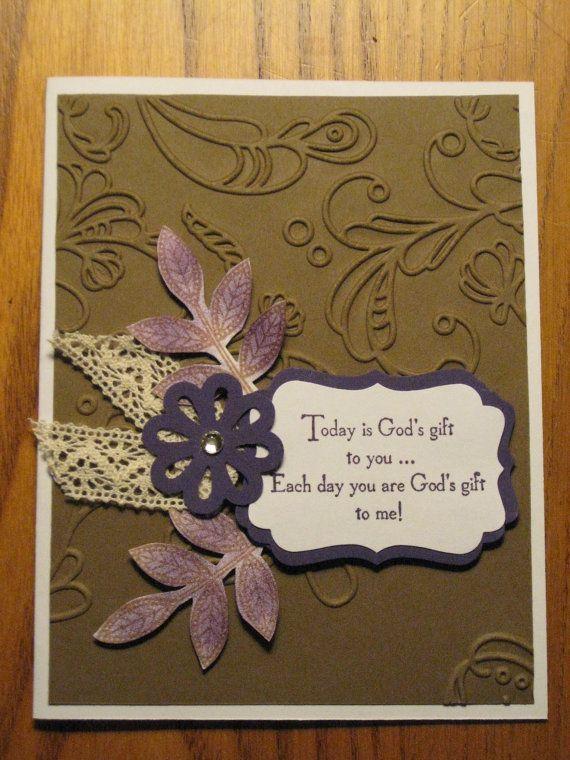 Best 25+ Christian cards ideas on Pinterest | Christening card ...