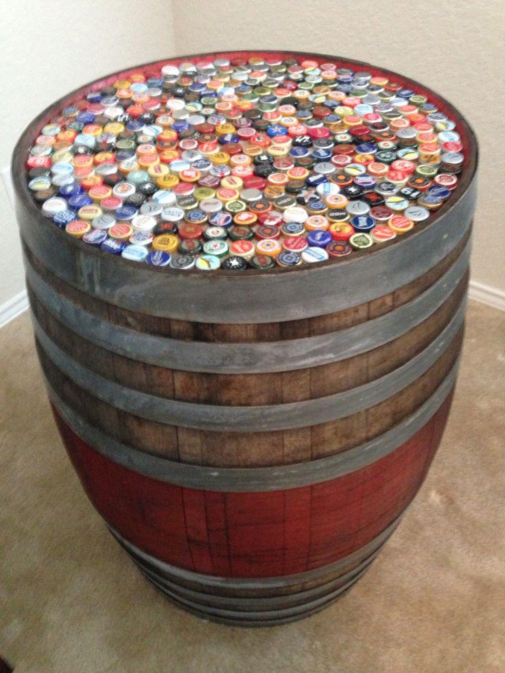 Best 25+ Wine barrel table ideas on Pinterest | Whiskey ...