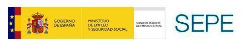 Página de los Servicio Público de Empleo Estatal.