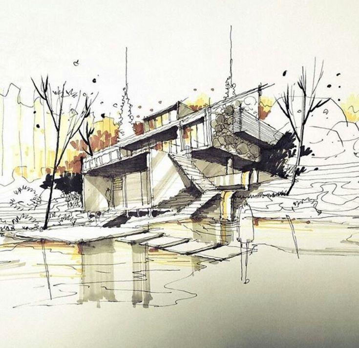 Architecture # archisketch # sketch