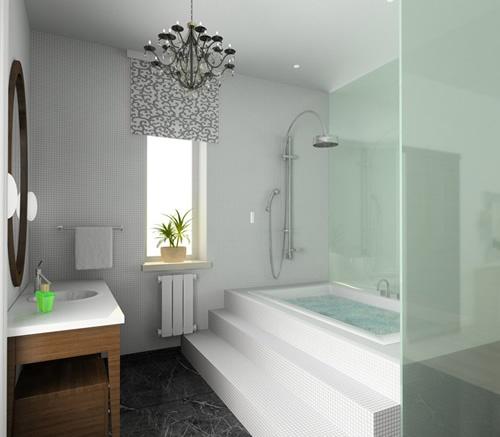 Bathroom ideas bath pinterest for Bathroom designs 7 x 11