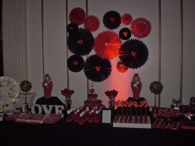 Candy Bar Love Tematica de Quince...