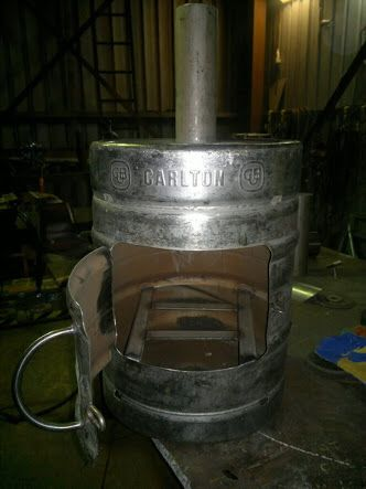 Outdoor Fire Made From A Beer Keg Diy Pinterest