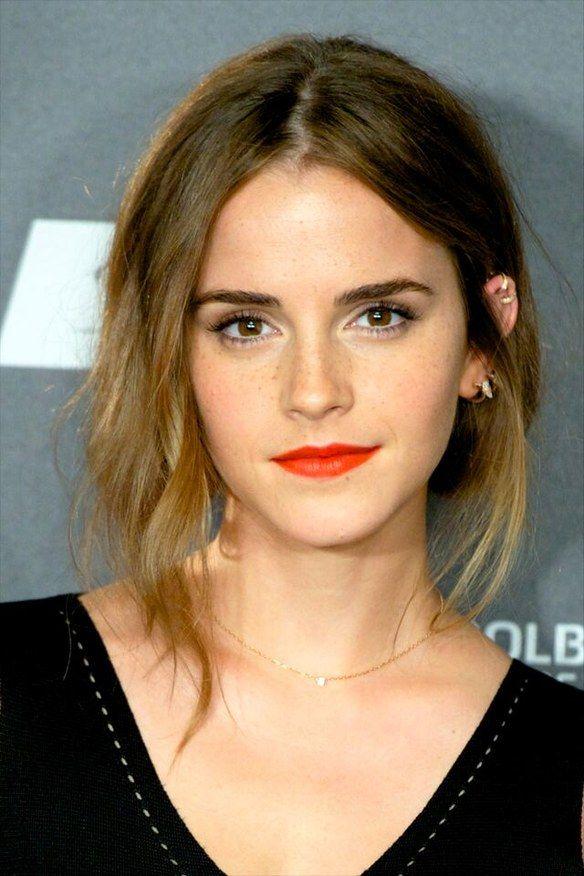 Emma Watson, red lips