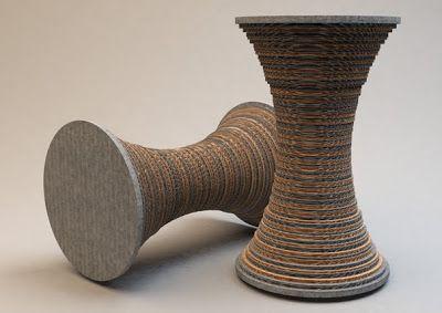 designZando: Cadeira de papelão