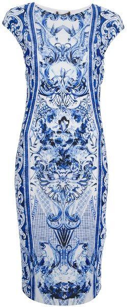 Printed Dress - ROBERTO CAVALLI