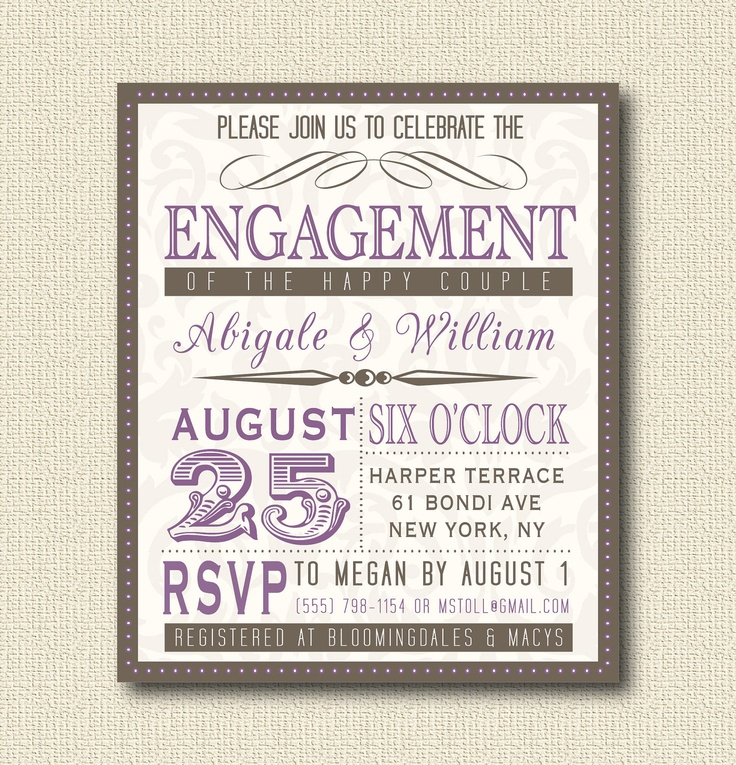 77 best images about I do BBQ Engagement Party – Vintage Engagement Party Invitations