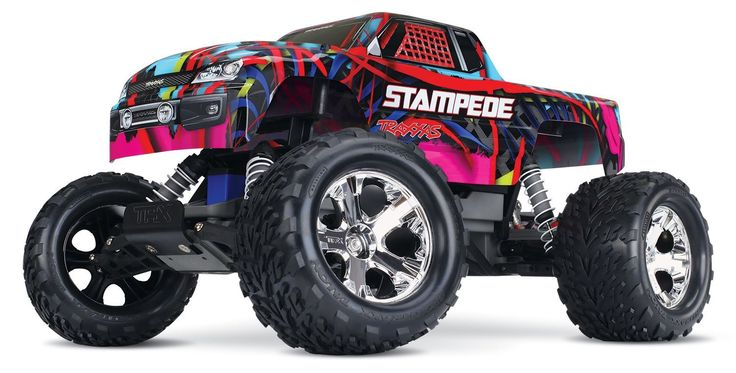 One of the best selling Traxxas trucks ever, the Traxxas Stampede Monster Truck has truly earned it's reputation as an absolutely amazing piece of RC engineering. There are many reasons why the Stampe