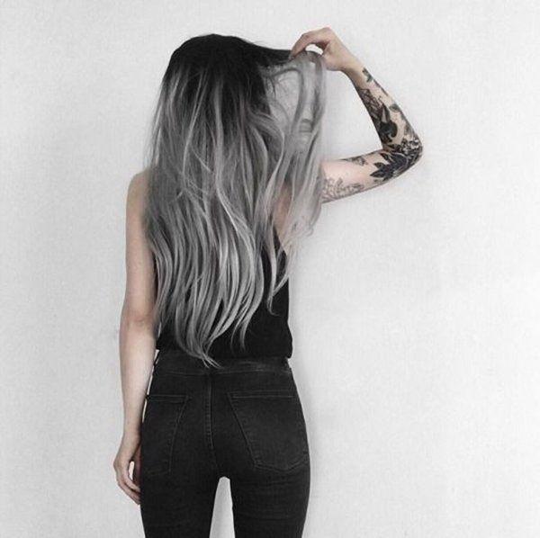 Saç Renklerinde Yeni Trend: Gümüş Gri Saç Rengi