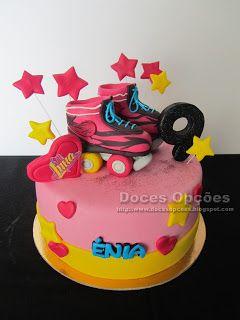 Doces Opções: Bolo de aniversário Soy Luna