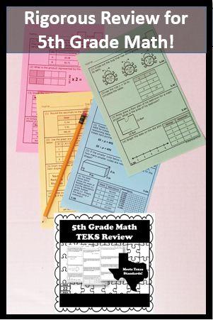 43 best Texas Test Prep for Math STAAR images on Pinterest | School ...