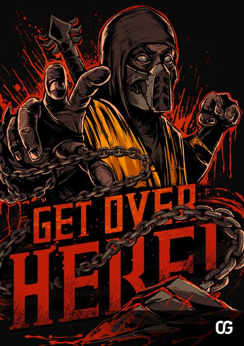 Mortal Kombat Designs by Ottyag Graphics