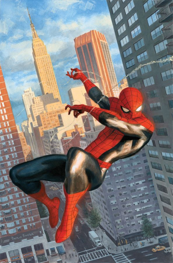 The Amazing Spider-Man #646 variant cover - Paolo Rivera