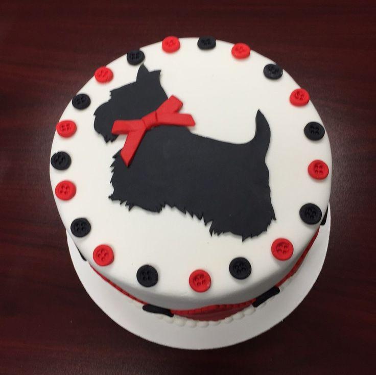 168 best Scottie Cakes & Cookies images on Pinterest ...