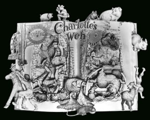 Children's Literature Transformed into Art, Because Why Not?: Campbell Berries, Books Sculpture, Kelly Campbell, Books Art, Books Worth, Charlotte Web, Altered Books, Children Books, Charlotte Web