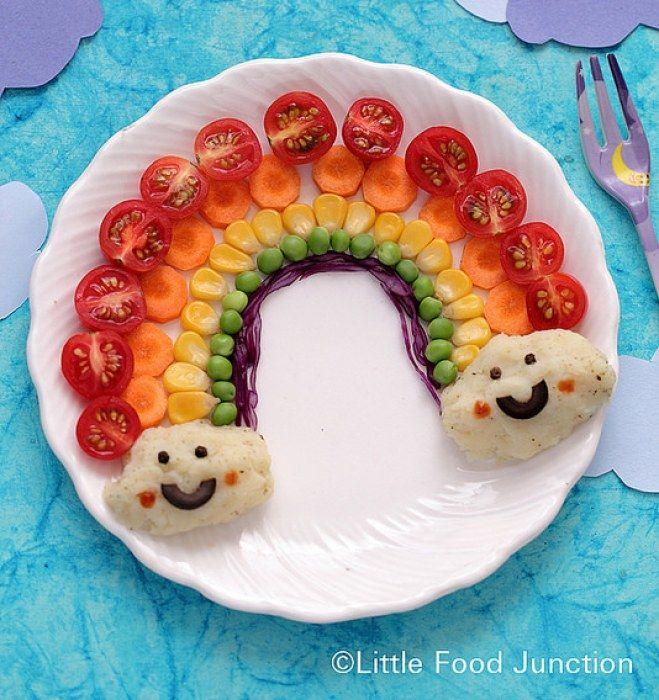 17 meilleures images propos de assiette l gumes enfants for Cuillere pour decorer les assiettes