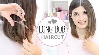 apaixonada por esse tutorial facílimo de como cortar um long bob <3  completely in love with this easy long bob diy <3