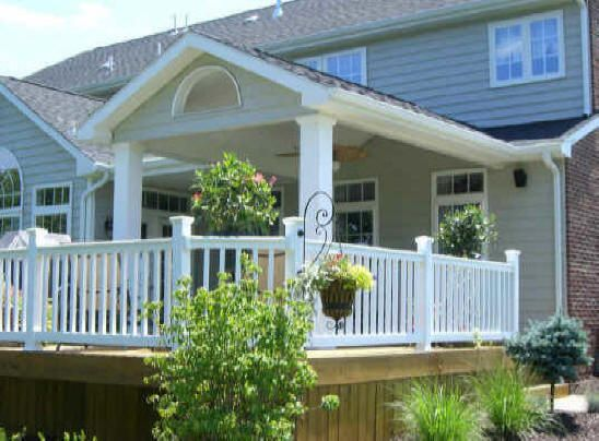Decks With Roofs | Decks NJ | New Jersey Decks Builders | Deck Building  Plan (