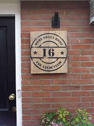 naambord - deze zou geweldig staan naast onze voordeur!