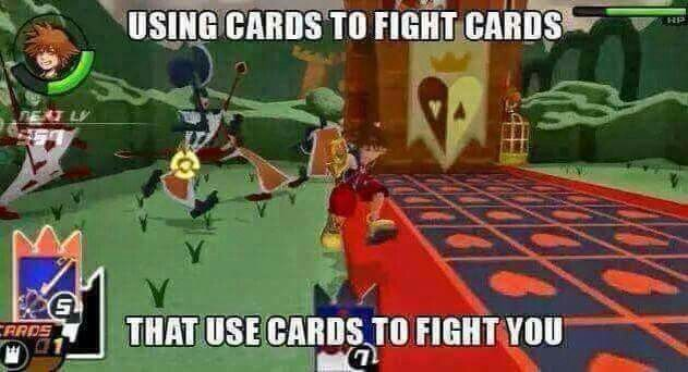 Only in Kingdom Hearts...