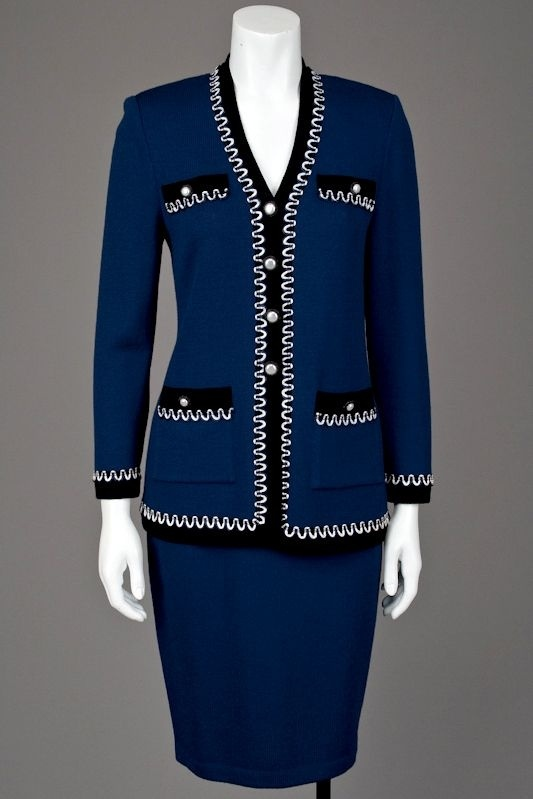Rodeo Drive Resale Www Shoprdr Com 100 Authentic Guaranteed St John Knits Sapphire Blue