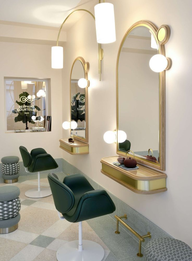 Beauty Salon Design Barber Shop Decor Modern Vinta With Images
