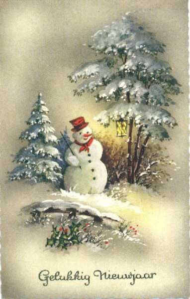Vintage snowman vintages cards christmas