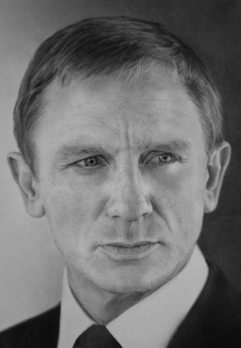 Daniel Craig   by Lukasz Stopczynski   Pracownia Sztuki SZKIC