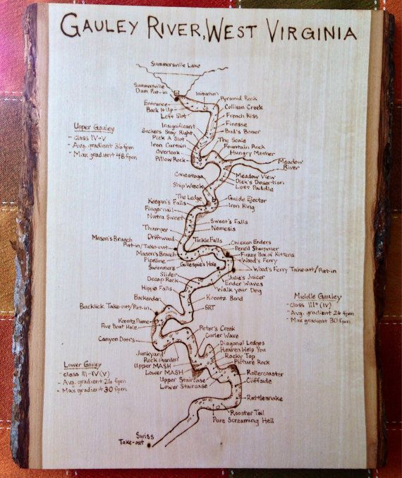 Best Whitewater River Maps Images On Pinterest Hardware West - West virginia rivers map