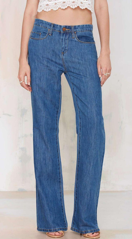 Blank NYC Someone Elsie Wide Leg Jeans