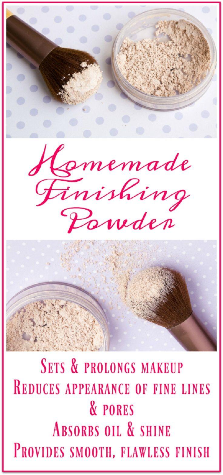 Homemade Finishing Powder To Reduce Pores - Get Rid of Pores Easily: 15 Natural Tricks and DIYs To Shrink Large Pores