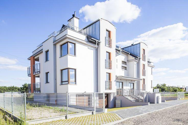 Blok mieszkalny z oknami PVC w Bydgoszczy od producenta okien Stolmar.
