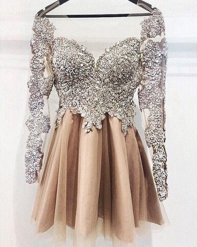 2016 short homecoming dresses, luxurious prom dresses, beaded prom dresses, long sleeve dresses for women, prom dresses 2016